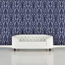 self adhesive wallpaper blue modern tempaper self adhesive wallpaper burke decor