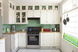 appealing green backsplashes for modern kitchen design idea and