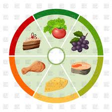 cuisine types food chart with different types of food products infografics