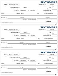 Excel Rental Template Rent Receipt Free Rent Receipt Template For Excel
