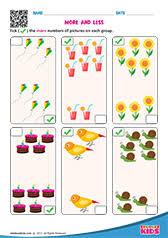 math and cold worksheets kindergarten