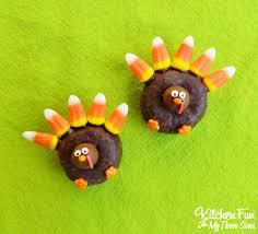 thanksgiving turkey donut treats thanksgiving turkey