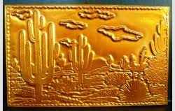kopper kard postcards postcard az cactus saguaro desert cactus copper kopper