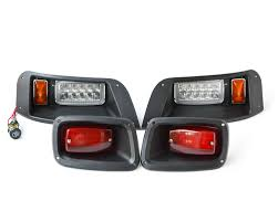 ezgo txt golf cart light kit basic halogen led lights