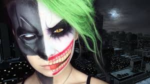 halloween makeup tutorials 2015 batman vs joker youtube