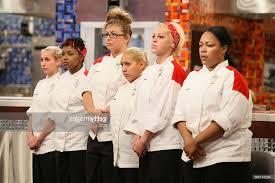 Hell S Kitchen Season 8 - the red team l r contestants kashia jessica sandra rochelle
