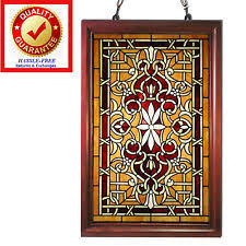 antique stained glass windows ebay