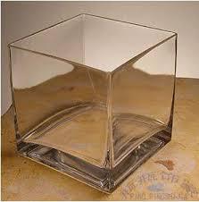 Extra Large Glass Vase Buy Glass Vase Fish Tank Extra Large 20 20cm Glass Square Cylinder
