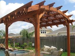 arched pergola kits home design styles