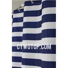 Nautical Striped Curtains And Blue Striped Nautical Primitive Cheap Shower Curtains