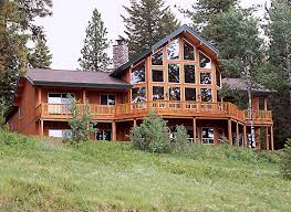 build on site homes how to build your log home on a difficult site