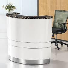 office reception desk for sale wholesale price modern commercial front desk curverd modern spa