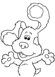 blues clues book monkey colouring happy colouring