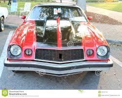van chevrolet het oude model van camaro van chevrolet stock afbeelding