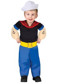 halloween sailor costume toddler popeye costume
