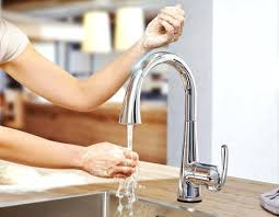 kitchen faucets touch technology touch technology faucets touch pull kitchen faucet with touch
