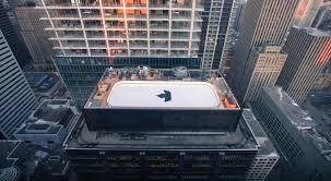downtown toronto tower gets rooftop hockey rink archpaper com
