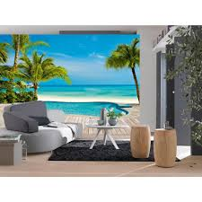 Ocean Wall Murals by Ideal Decor 100 In X 144 In Pool Wall Mural Dm127 The Home Depot