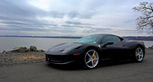 Ferrari 458 Blacked Out - feature review 2010 ferrari 458 italia one of the absolute
