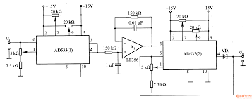 component ac dc converter circuit diagram to rms composed of ad533