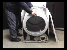 belt replacing performa electric dryer youtube