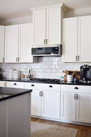 how big are kitchen cabinets how to make a builder grade kitchen look custom hilltown house