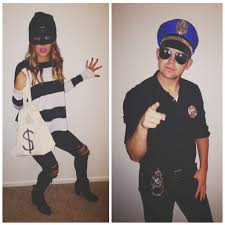 easy halloween costume diy costume couples costume cop and