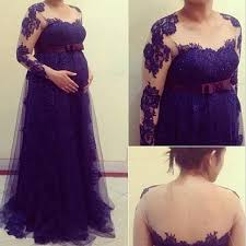 gown hair picture more detailed picture about purple pregnant