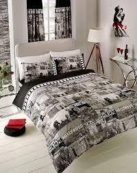 black white u0026 grey hollywood movie design double size duvet