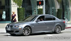 bmw beverly bmw m5 spotted in beverly california on 03 29 2011 photo 2