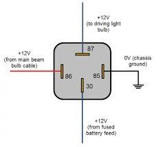 wiring diagram on an automotive relay u2013 readingrat net