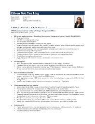 Hr Analyst Resume Sample Hris Analyst Resume Sample Ace Operations Supervisor Resume