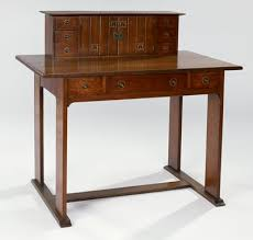 Arts And Crafts Writing Desk Desk Craftsman Workshops Of Gustav Stickley Mia