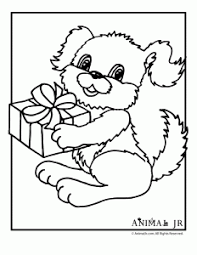 printable birthday present coloring pages coloring pages ideas