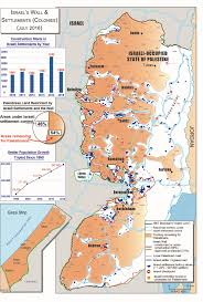 Israel World Map Israel U0027s Wall And Settlements July 2016 Nad