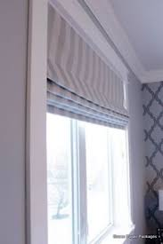 No Sew Roman Shades Instructions - diy no sew faux roman shade with dowels outside mount