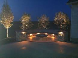 retaining wall lights under cap b t klein s landscaping hardscapes decorative walls and seating