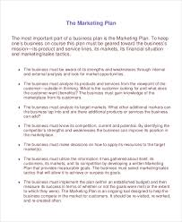 20 marketing plan templates free u0026 premium templates