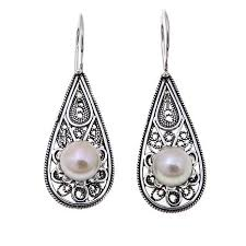 ottoman silver jewelry collection 7 8mm cultured pearl sterling
