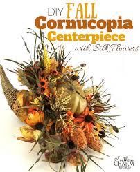 cornucopia centerpiece fall cornucopia centerpiece tutorial with silk flowers southern