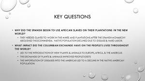 plants native to spain collision of cultures key questions ppt video online download