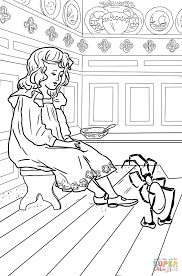 little miss muffet coloring page free printable coloring pages