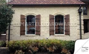 window functional shutter hardware martellhardware