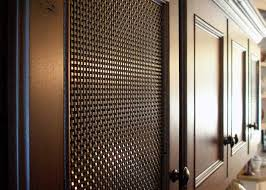 alternatives to glass front cabinets s 16 architectural woven wire mesh banker wire building