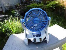 ryobi fan and battery ryobi r18f one 18v cordless fan no batteries ebay