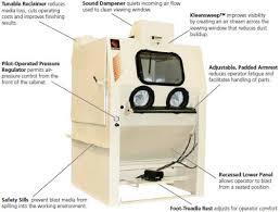 Used Blast Cabinet Item Ergo 3648 Ergo Blast Cabinets On Empire Abrasive Equipment Co