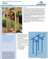 wedding arch plans free free arbor plans how to build an arbor