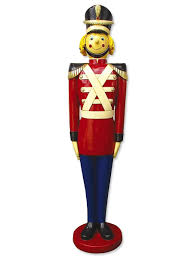 resin tin soldier decor 1 7m large decor u0026 inflatables the