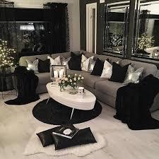 Black And White Living Room Decor Living Room Design White Living Rooms Black And Grey Room Decor