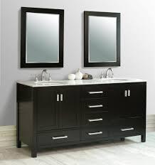 bathroom wall mounted bathroom vanity with sink under large